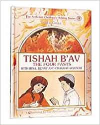 3 Weeks/Tisha B'Av Books for Kids