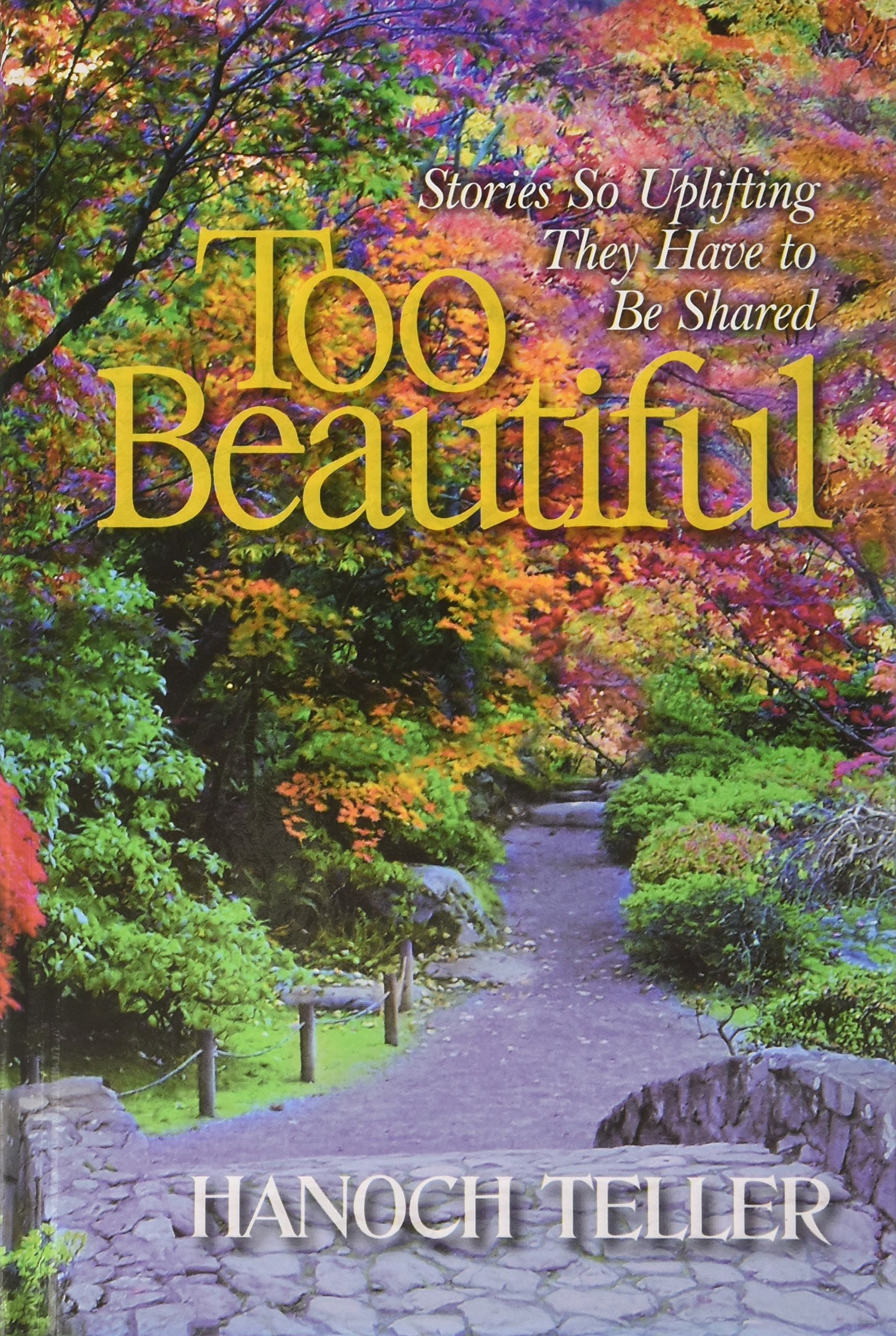 Too Beautiful: Stories So Uplifting They Have to Be Shared by Hanoch Teller