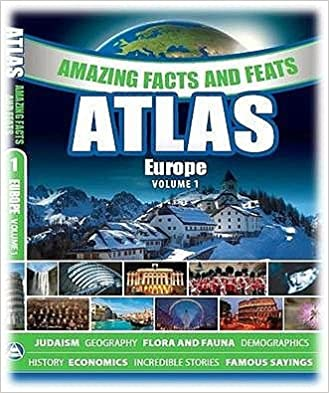 Amazing Facts & Feats - Atlas volume 1 - Europe