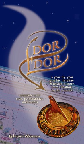 Dor L'Dor Timeline: A Year-by-Year Graphic Timeline of Jewish History from Creation to the Present by Ephraim Waxman