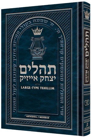 Large Type Tehillim / Psalms Pocket Size [Paperback]