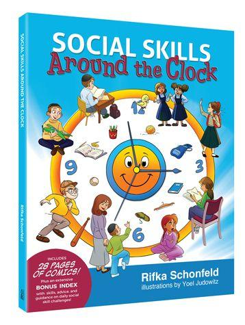 Social Skills Around the Clock (Hard Cover)