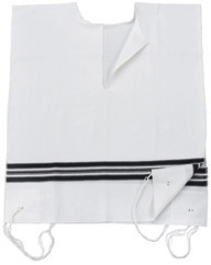 Wool White No Tzitzit