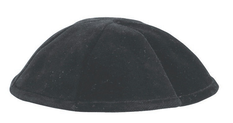 6 Part Velvet Skullcap