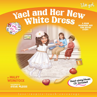 Yael and Her New White Dress