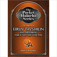 Pocket Halacha: Eruv Tavshilin/2 Day