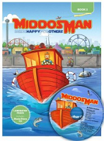 Middos Man Book & CD - Vol. 3 Being Happy for Others