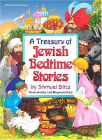 A TREASURY OF JEWISH BEDTIME STORIES (H/C)