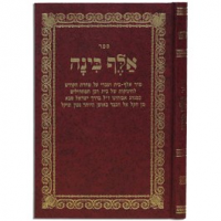 ספר אלף בינה גדול - Sefer Aleph Binah Large