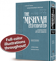 Schottenstein Edition Mishnah Elucidated Tohoros Vol. 3 Full color volume - Tractate: Oholos
