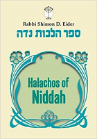 Halachos of Niddah (Rabbi Shimon D. Eider)
