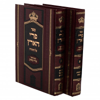 Pri Ha'aretz 2 Volume Set by Rabbi Menachem Mendel of Vitebsk