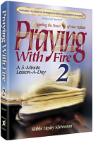Praying with Fire Volume 2 [Full Size Hardcover] By Rabbi Heshy Kleinman