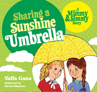 Sharing a Sunshine Umbrella