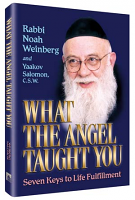 What the Angel Taught You By Rabbi Noah Weinberg