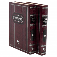 Shaar Hamelech 2 Volume Set by Rabbi Yitzchak Nunez Belmonte