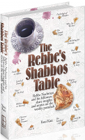 The Rebbe's Shabbos Table: Rebbe Nachman and his followers share insights and stories on the weekly Parashah by Rabbi Yossi Katz