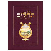 Family Tehillim: The Raksin Edition (Hebrew with English overview) - RED