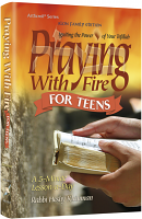 Praying With Fire Teens - Pocket Size [Pocket Size Hard Cover] By Rabbi Heshy Kleinman
