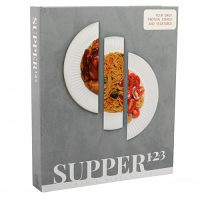 Supper 1.2.3 Cookbook by Chanie Hirschfeld