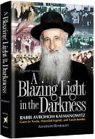 A Blazing Light in the Darkness By Avrohom Birnbaum