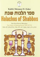 Halachos of Shabbos (Rabbi Shimon D. Eider)