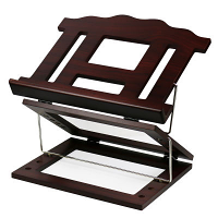 Wooden 2 Tone Book Stand 2 Positions