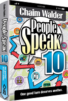 People Speak 10: One Good Turn Deserves Another by Chaim Walder